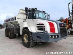 Articulated dump truck TEREX TA30, from Europe