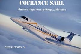 Business aviation and flights to nice