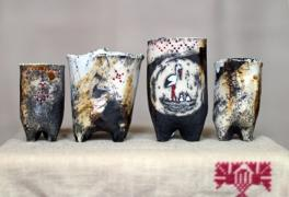 Ceramics handmade, branded glassware and Souvenirs
