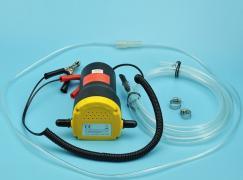 Электрический насос для замены масла через щуп