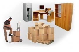 Gazelles, loaders, organization of moving, garbage disposal