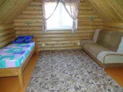 House of 100 m2 on a plot of mountain Kolyvan lake White