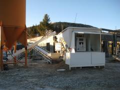 Mobile concrete plant Sumab S-15-1200 (20 m3 / h) Sweden