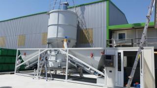 Мобильный бетонный завод Sumab K-40 (40 м3/час) Швеция
