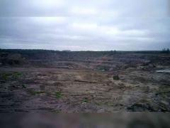 Open pit 42 hectares, 10,000 thousand / m3, flax. region