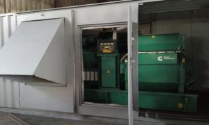 Power plant (diesel power station, diesel generator set) CUMMINS 1 MW 6.3 kV