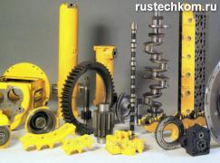 Road-building machinery and spare parts