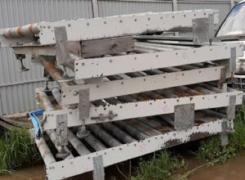 Roller conveyor with drive width 1.2 m