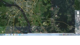 Selling area of 9.3 m (IH) Bank of the river Kuban
