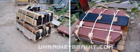 Supplies of granite in Russia from Ukraine
