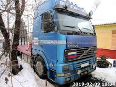 Tow truck VOLVO FH12 420, 8 m, 6x2, winch