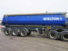 Wielton semi-trailer tipper 30 m3, 2014, 5 PCs